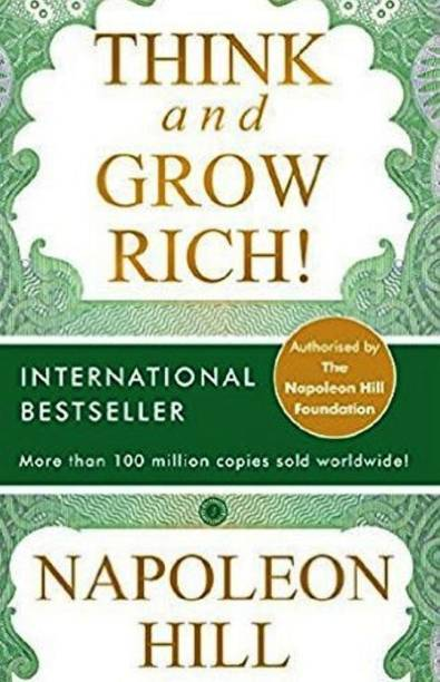 Think And Grow Rich Book By Napoleon Hill -must read books list